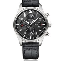 IWC Pilot Chronograph Steel 43mm Black Arabic numerals South Africa, Johannesburg