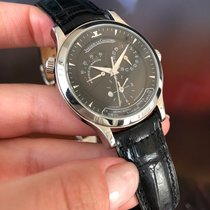 Jaeger-LeCoultre Master Geographic Steel 38mm Black No numerals