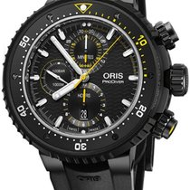 Oris ProDiver Chronograph Titanium 51mm Black United States of America, California, Moorpark