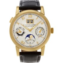 A. Lange & Söhne 310.032 Yellow gold 2000 Langematik Perpetual 39mm pre-owned United States of America, Florida, Surfside