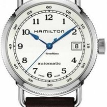 Hamilton Khaki Navy Pioneer Acier 36mm Blanc