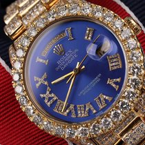 Rolex Day-Date 36 Yellow gold 36mm Blue Roman numerals United States of America, New York, New York