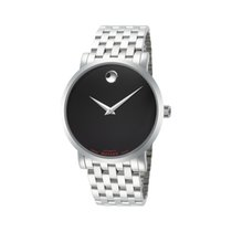 Movado Red Label Staal 42mm Zwart
