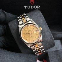 Tudor Prince Date M74033-0013 Nieuw Goud/Staal 34mm Automatisch