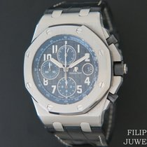 Audemars Piguet Royal Oak Offshore Chronograph Stahl 42mm Schwarz