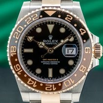Rolex GMT-Master II 40mm Schwarz Arabisch