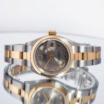 Rolex Lady-Datejust Acero y oro 26mm Gris Romanos