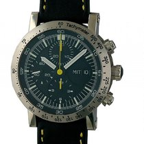 Temption Chronograph 43mm Automatic new Black