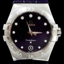 Omega Constellation Quartz occasion 35mm Acier