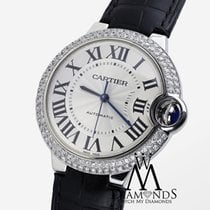 カルティエ (Cartier) Diamond Womens Cartier Ballon Bleu Watch...