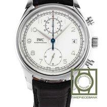 IWC Portuguese Chronograph nouveau 2020 Remontage automatique Chronographe Montre avec coffret d'origine et papiers d'origine IW390403