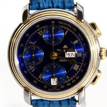 艾美 (Maurice Lacroix) Chronograph Deep Blue Edition - Men´s...