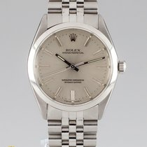 Rolex Oyster Perpetual 34 Steel 34mm Silver No numerals United States of America, California, Sherman Oaks