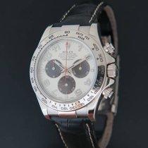 Rolex Daytona Whitegold Panda Racing Dial 116519