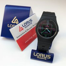 Lorus Plastic 34mm Quartz Lorus Analogue Quartz new
