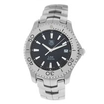TAG Heuer Link Quartz Steel 39mm Black Arabic numerals United States of America, New York, New York