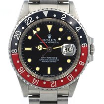 Rolex 16760 Steel GMT-Master II 40mm pre-owned United States of America, California, San Francisco