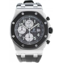 Audemars Piguet Chronograph 42mm Automatic 2003 pre-owned Royal Oak Offshore Chronograph Black