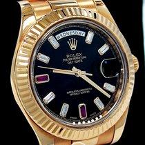 Rolex Day-Date II Ruzicasto zlato 41mm Rimski brojevi