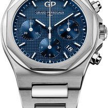 Girard Perregaux Laureato Steel 38mm Blue United States of America, New York, Airmont
