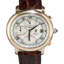 Audemars Piguet Millenary Chronograph Oro rosado 41mm Plata Romanos