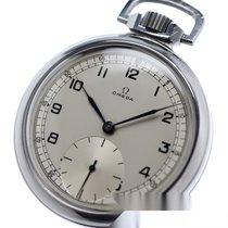Omega Uhr gebraucht 1946 Stahl 50.5mm Arabisch Handaufzug Nur Uhr