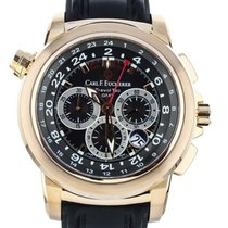 Carl F. Bucherer Rose gold 46mm Automatic 00.10620.03.33.01 pre-owned United States of America, Illinois, BUFFALO GROVE