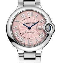 Cartier Ballon Bleu 33mm new 2019 Automatic Watch with original box and original papers W6920100