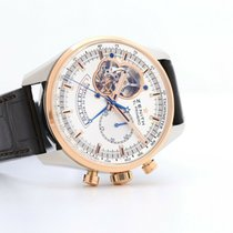 Zenith El Primero Chronomaster pre-owned 42mm Silver Date Leather