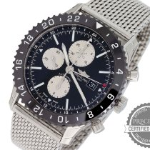 Breitling Chronoliner Steel 46mm Black No numerals United States of America, Pennsylvania, Willow Grove