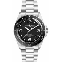Bell & Ross Steel 41mm Automatic BRV292-BL-ST/SST new