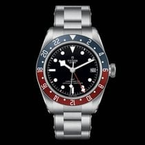 帝陀 Black Bay GMT 鋼 41mm 黑色