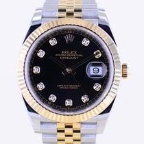 Rolex Datejust II 126333 Muito bom Ouro/Aço 41mm Automático