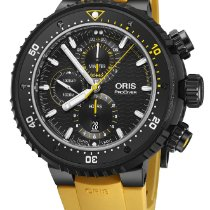 Oris ProDiver Chronograph 01 774 7727 7784-Set 2019 new