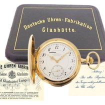 A. Lange & Söhne Watch pre-owned 1913 Yellow gold 54mm Arabic numerals Manual winding Watch with original box and original papers