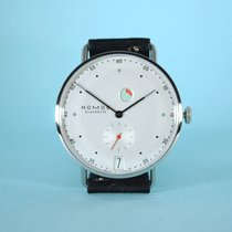NOMOS Metro Datum Gangreserve new 2019 Manual winding Watch with original box and original papers 1101