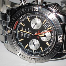 Breitling Chronomat 44 Airborne Steel 44mm Black No numerals United States of America, New York, Greenvale