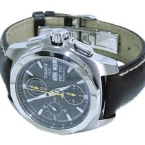Tissot PRC 100 Automatic Chronograph Carbon Fibre Dial Mens Watch