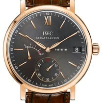 IWC Portofino Hand-Wound Rose gold 45mm Grey United States of America, New York, Airmont