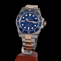 Rolex Submariner Date 300 m Steel and Gold Ceramic