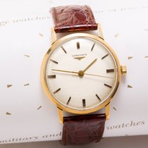 Longines Vintage solid gold dress watch
