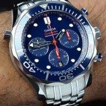 Omega Seamaster Diver 300 M Acier 41,5mm Bleu Arabes