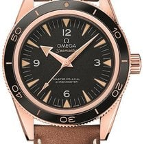 Omega Rose gold Automatic 41mm new Seamaster 300