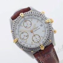 Breitling Chronomat Guld/Stål 40mm Hvid