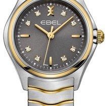 Ebel Wave Goud/Staal 30mm Grijs