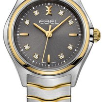 Ebel Wave Gold/Steel 30mm Grey