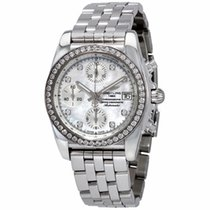 Breitling Chronomat 38 Steel 38mm Mother of pearl No numerals United States of America, Florida, Aventura