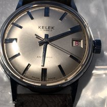 Kelek Steel 33mm Manual winding 94Y34130 pre-owned United Kingdom, ilford