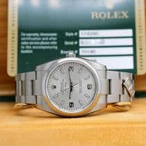 Rolex Air King Stahl 34mm Arabisch