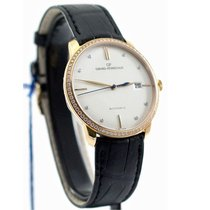 Girard Perregaux Rose gold Automatic White 38mm new 1966